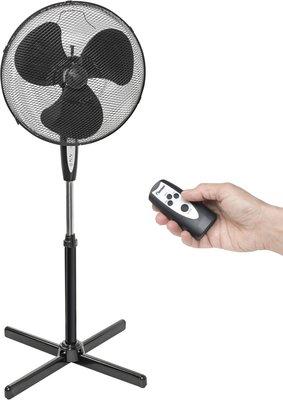 Bestron ASV45ZR staande ventilator zwart 45 cm