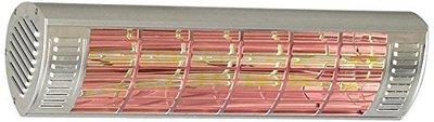 CasaTherm W1500 Gold LowGlare zilver elektrische terrasverwarming