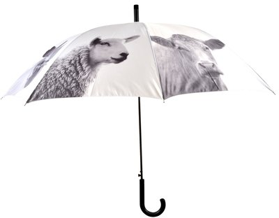 Esschert Design black and white animals paraplu