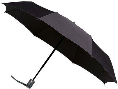 miniMAX Automatic Open&Close opvouwbare paraplu zwart