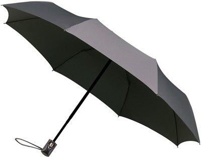 miniMAX Automatic Open&Close opvouwbare paraplu grijs