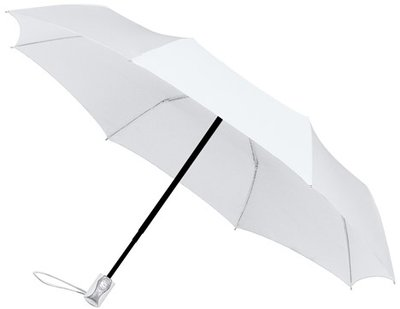 miniMAX Automatic Open&Close opvouwbare paraplu wit