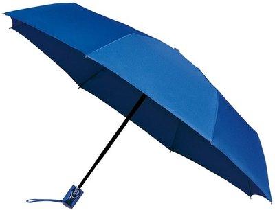 miniMAX Automatic Open&Close opvouwbare paraplu blauw