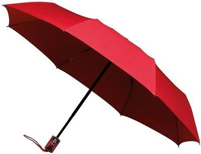 miniMAX Automatic Open&Close opvouwbare paraplu rood