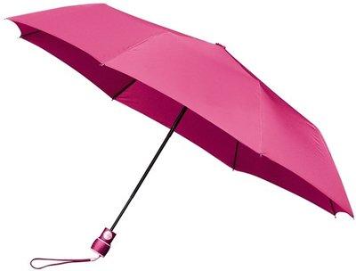 miniMAX Automatic windproof opvouwbare paraplu roze