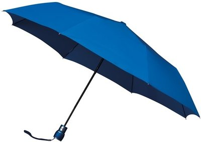 miniMAX Automatic windproof opvouwbare paraplu blauw