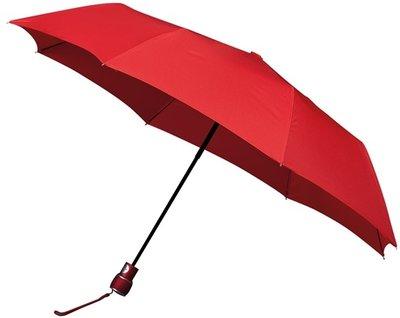 miniMAX Automatic windproof opvouwbare paraplu rood