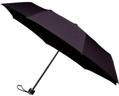 miniMAX windproof opvouwbare paraplu zwart