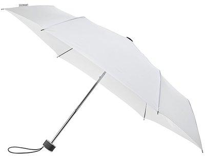 miniMAX Flat opvouwbare windproof paraplu wit
