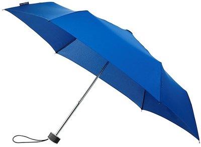 miniMAX Flat opvouwbare windproof paraplu blauw