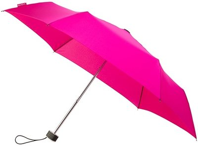 miniMAX Flat opvouwbare windproof paraplu roze