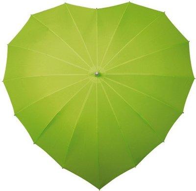 Falcone hartparaplu lime groen
