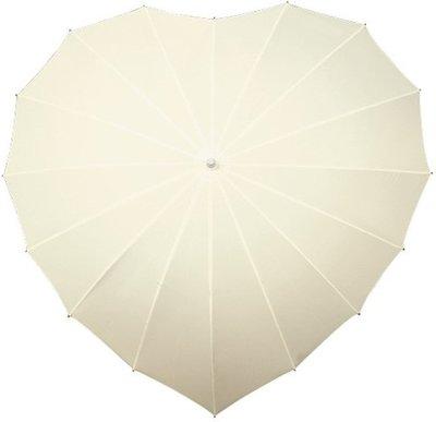Falcone hartparaplu gebroken wit