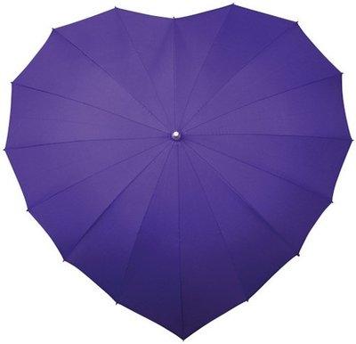 Falcone hartparaplu paars