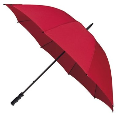 Falcone windproof golfparaplu rood