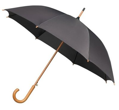 Falcone Deluxe paraplu grijs
