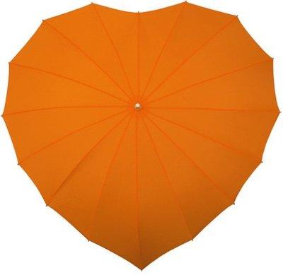 Falcone hartparaplu oranje
