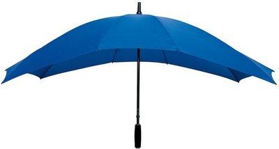 Falcone duoparaplu lichtblauwblauw