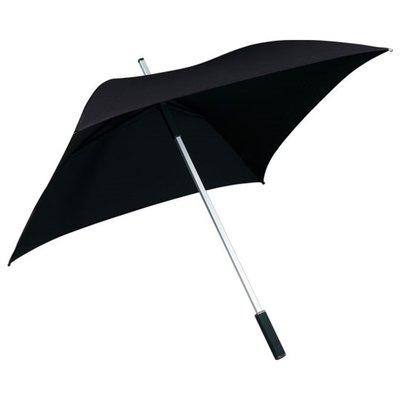 Falcone All Square vierkante paraplu zwart