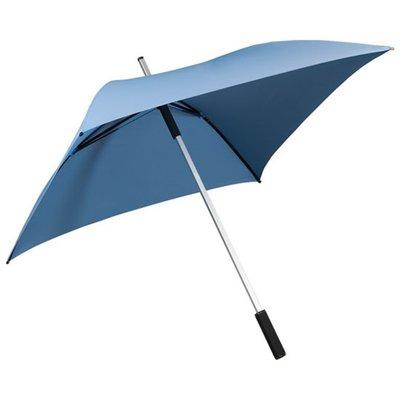 Falcone All Square vierkante paraplu lichtblauw