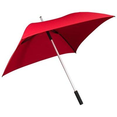 Falcone All Square vierkante paraplu rood