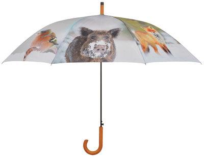 Esschert Design winterdieren paraplu