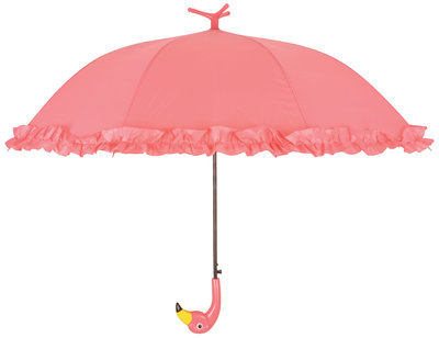 Esschert Design roesjes flamingo paraplu