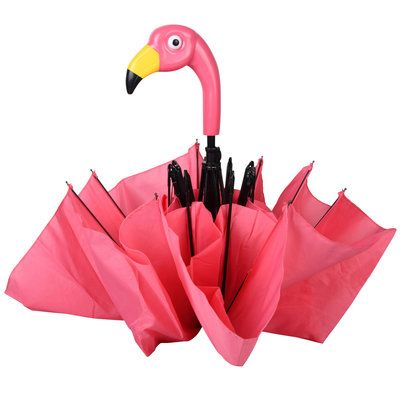 Esschert Design opvouwbare flamingo paraplu