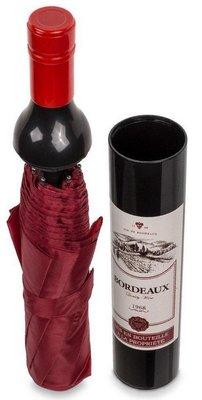 Felpudo opvouwbare paraplu in wijnfles
