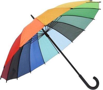 Felpudo Rainbow paraplu