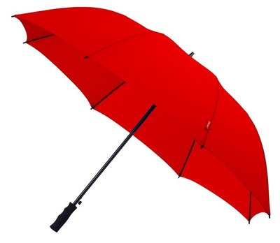 Falcone Automatic windproof golfparaplu rood