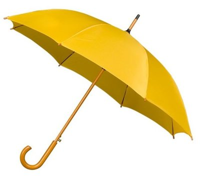 Falcone Deluxe paraplu donkergeel