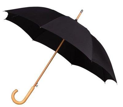 Falcone Deluxe windproof paraplu zwart