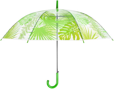 Esschert Design transparante jungle bladeren paraplu