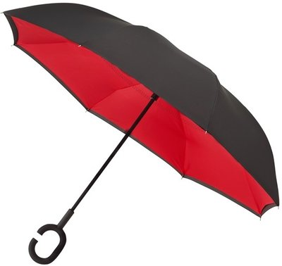 Falcone Inside Out windproof paraplu rood