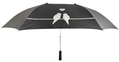 Esschert Design tweepersoons tortelduifjes paraplu