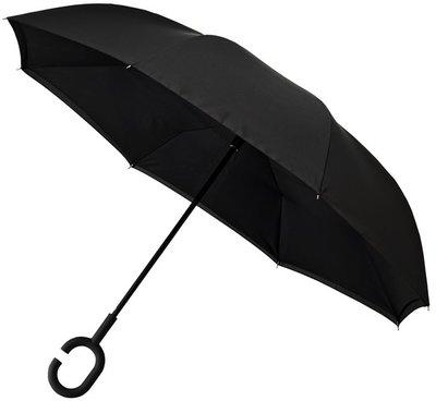 Falcone Inside Out windproof paraplu zwart