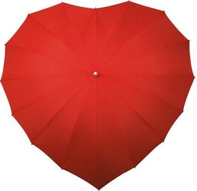 Falcone hartparaplu rood