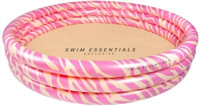 Swim Essentials Zebraprint roze zwembad - 150 cm