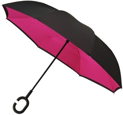 Falcone Inside Out windproof paraplu paars