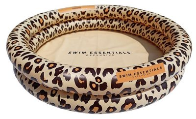 Swim Essentials Panterprint beige zwembad - 60 cm