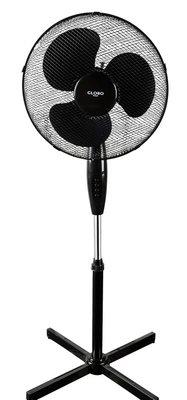 Globo Fanatic staande ventilator zwart 45 cm