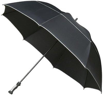 Falcone XXL Storm windproof golfparaplu zwart