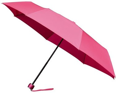 miniMAX windproof opvouwbare paraplu roze